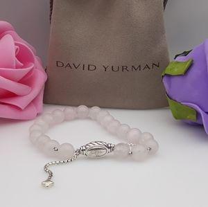 David Yurman Spiritual beads Bracelet Pink Quartz